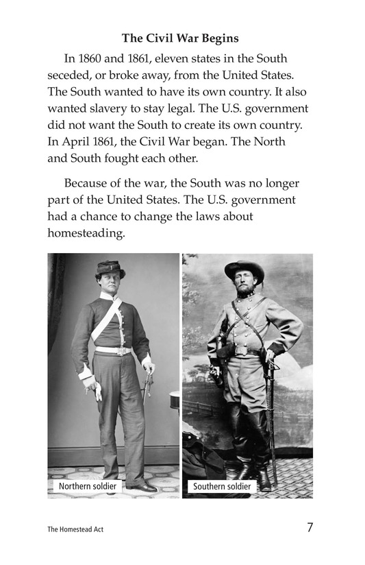 Book Preview For The Homestead Act Page 7