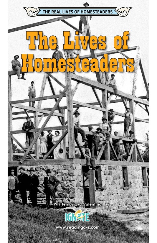 Book Preview For The Lives of Homesteaders Page 0
