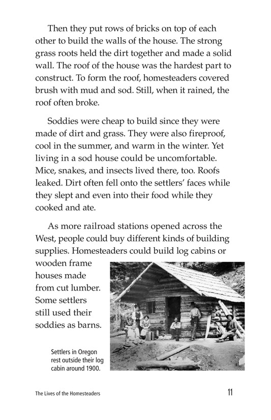 Book Preview For The Lives of Homesteaders Page 11