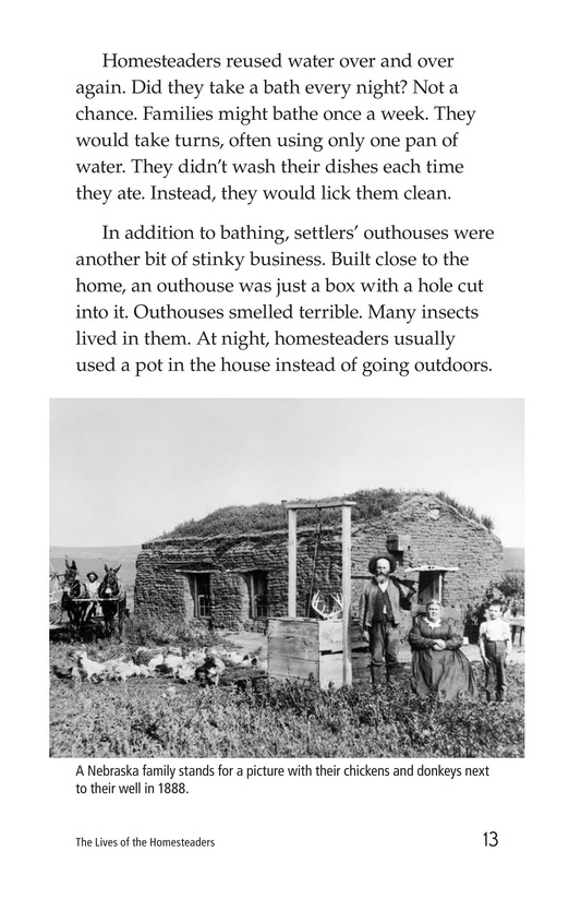 Book Preview For The Lives of Homesteaders Page 13
