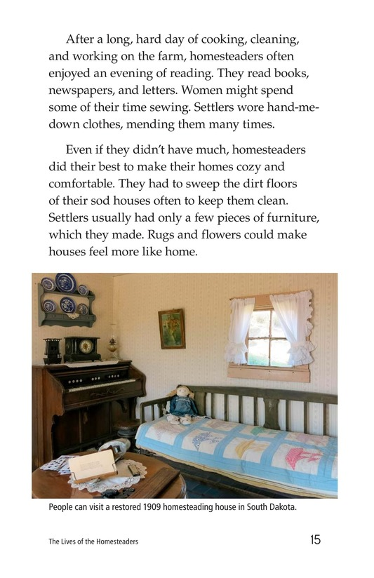 Book Preview For The Lives of Homesteaders Page 15