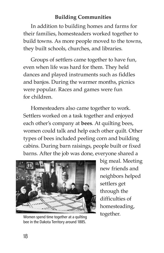 Book Preview For The Lives of Homesteaders Page 18