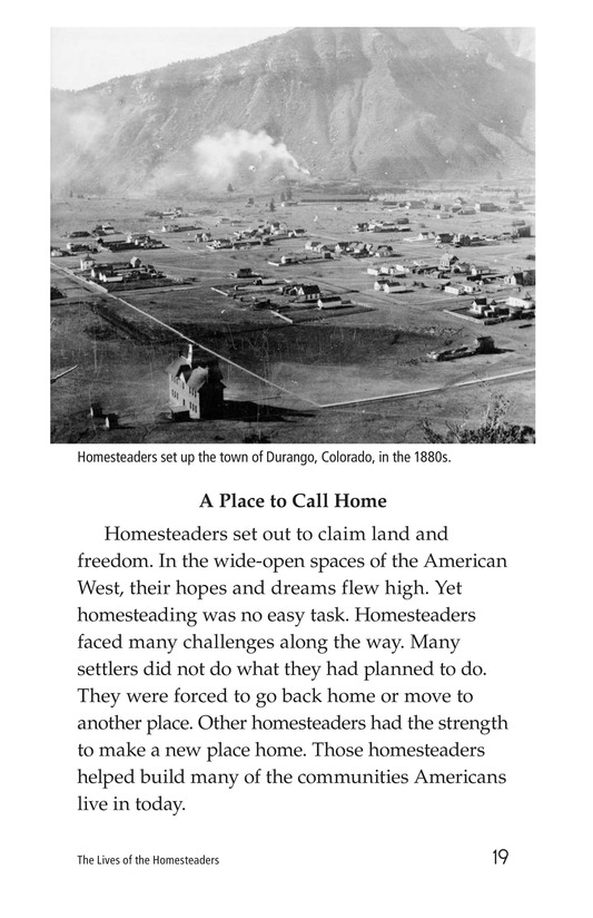 Book Preview For The Lives of Homesteaders Page 19