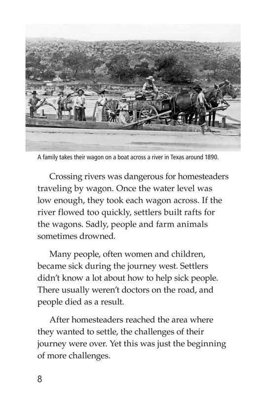 Book Preview For The Lives of Homesteaders Page 8