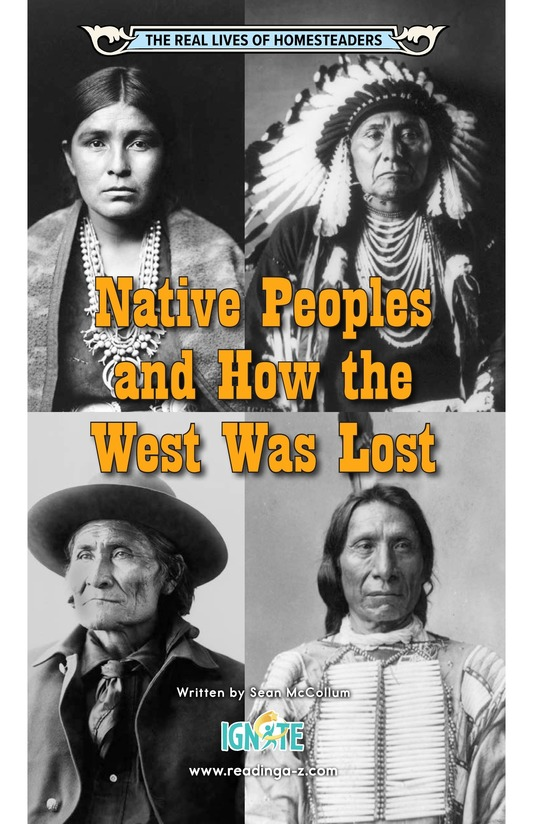 Book Preview For Native Peoples and How the West Was Lost Page 0