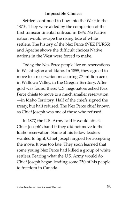 Book Preview For Native Peoples and How the West Was Lost Page 15
