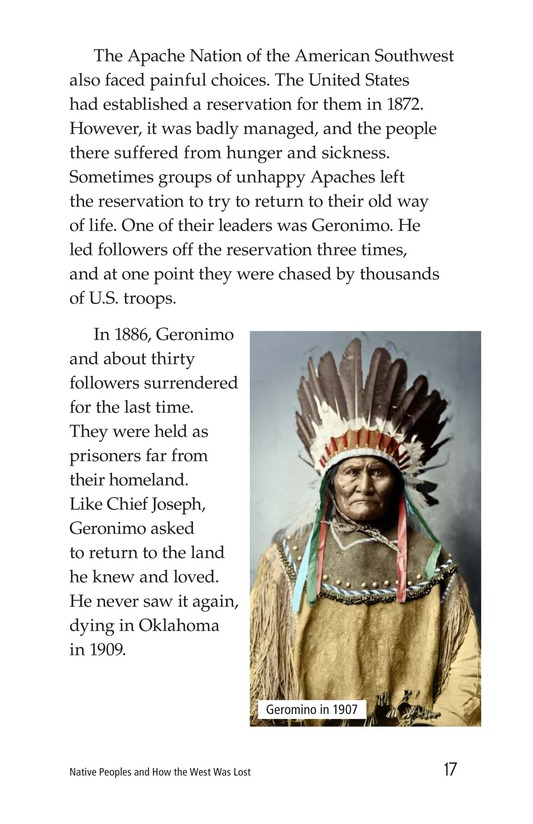 Book Preview For Native Peoples and How the West Was Lost Page 17