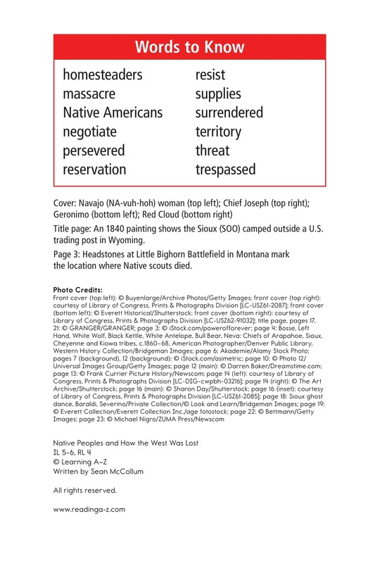 Book Preview For Native Peoples and How the West Was Lost Page 2