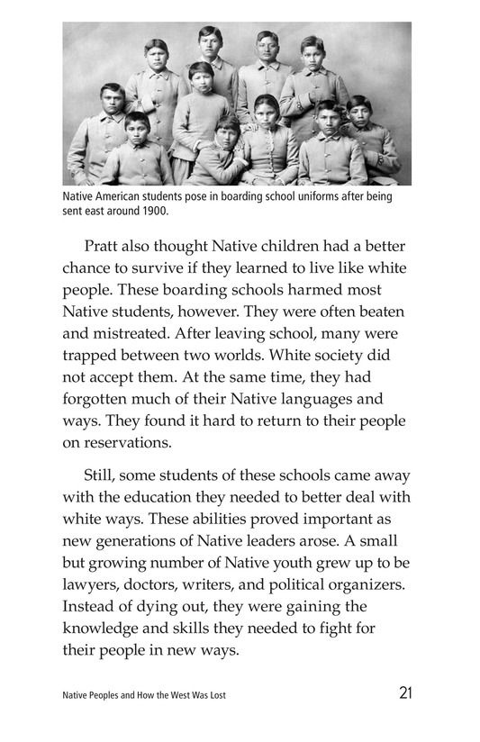 Book Preview For Native Peoples and How the West Was Lost Page 21