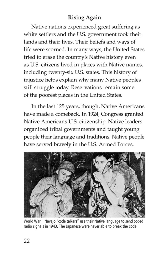 Book Preview For Native Peoples and How the West Was Lost Page 22