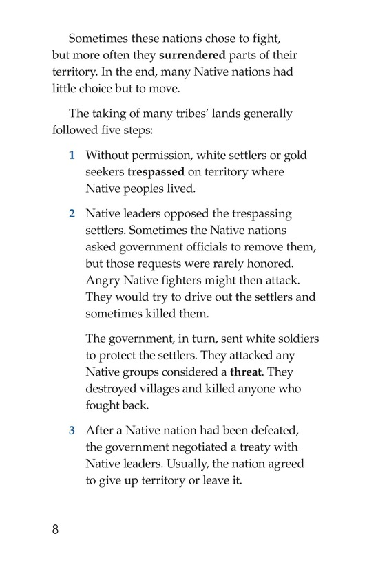 Book Preview For Native Peoples and How the West Was Lost Page 8