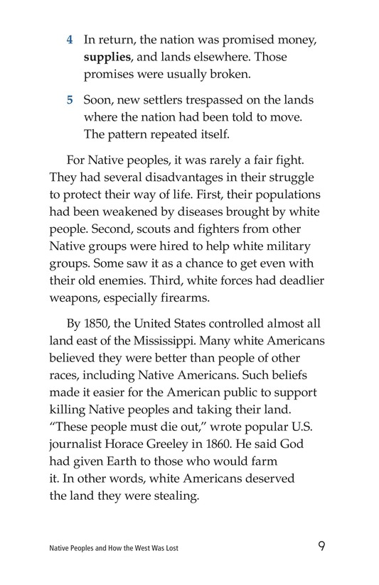 Book Preview For Native Peoples and How the West Was Lost Page 9