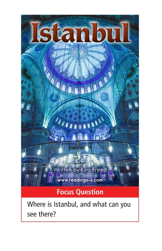 Book Preview For Istanbul Page 1