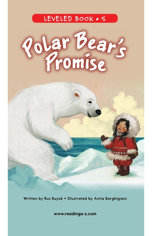 Book Preview For Polar Bear's Promise Page 0