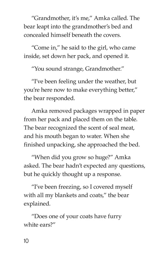 Book Preview For Polar Bear's Promise Page 10