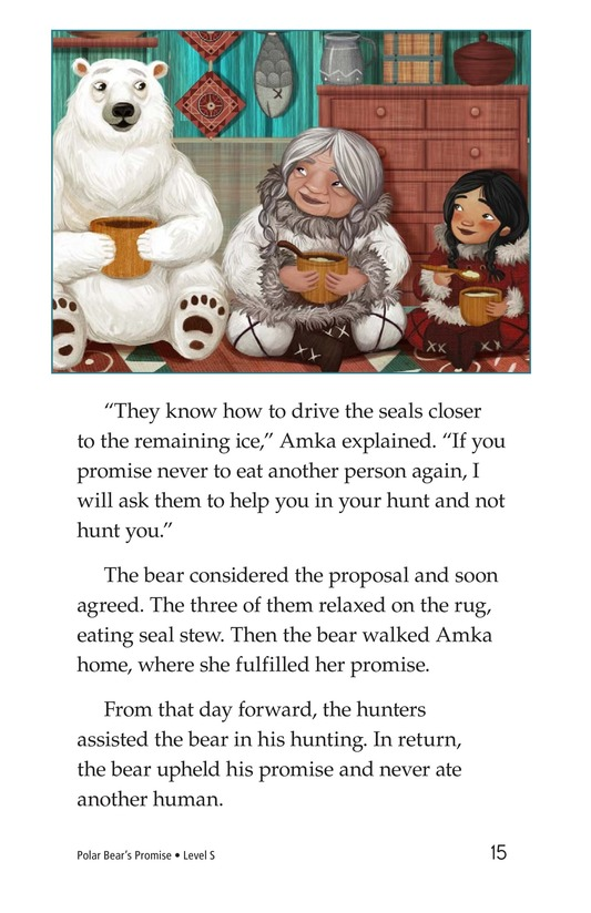 Book Preview For Polar Bear's Promise Page 15