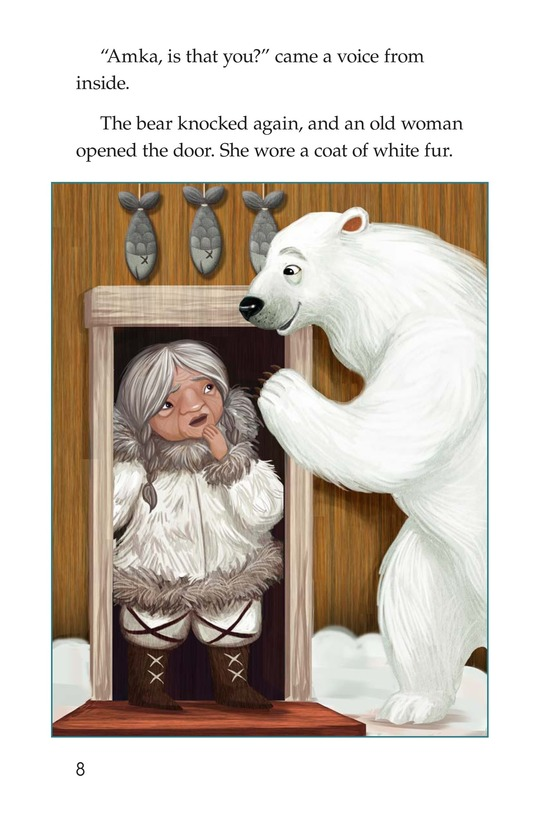 Book Preview For Polar Bear's Promise Page 8