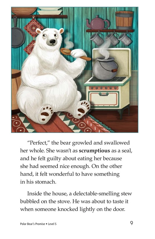 Book Preview For Polar Bear's Promise Page 9