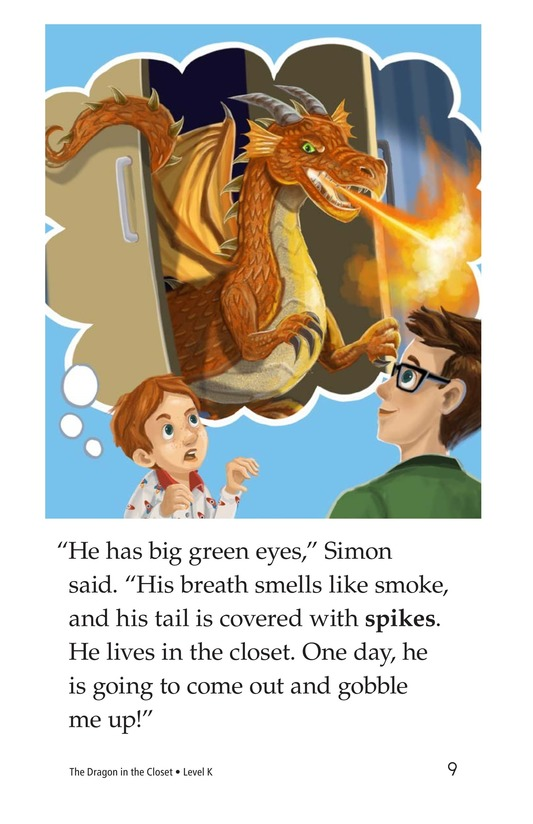 Book Preview For The Dragon in the Closet Page 9