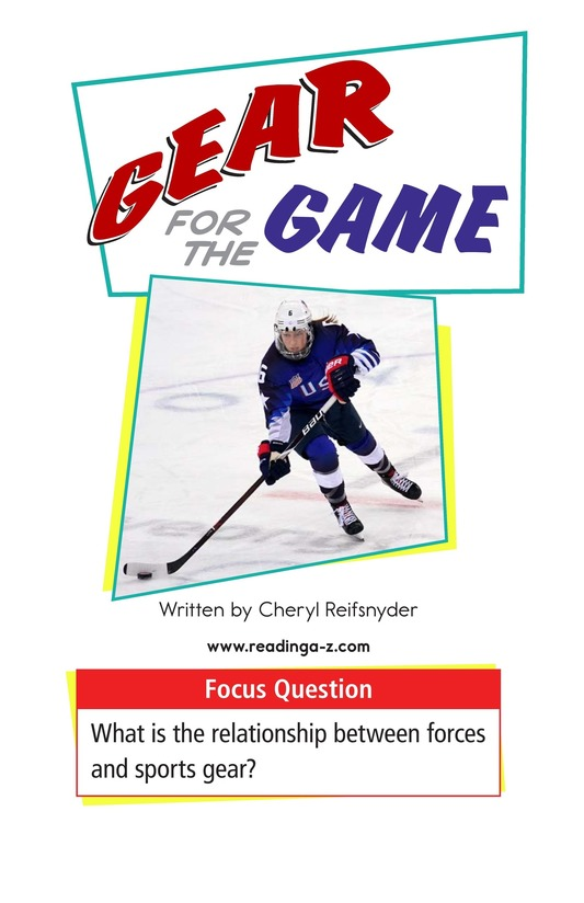 Book Preview For Gear for the Game Page 1
