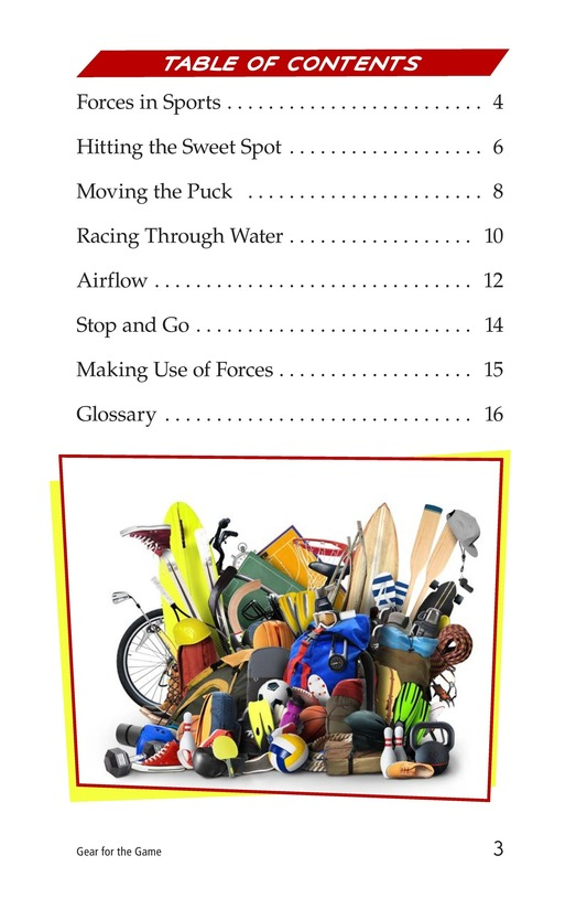 Book Preview For Gear for the Game Page 3