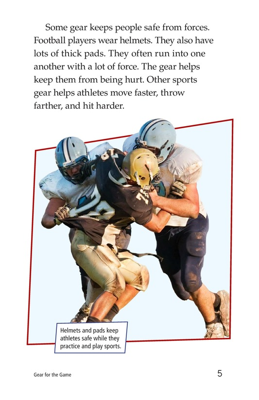 Book Preview For Gear for the Game Page 5