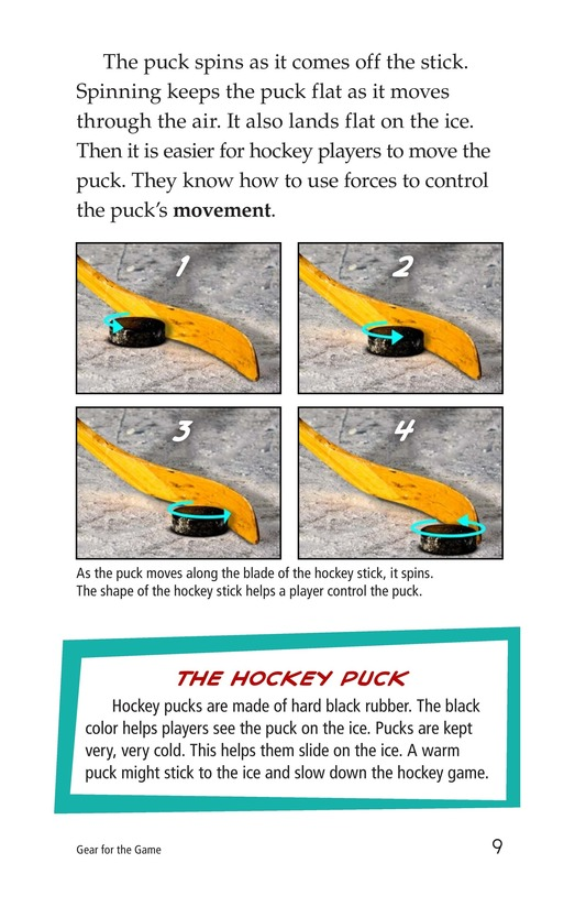 Book Preview For Gear for the Game Page 9