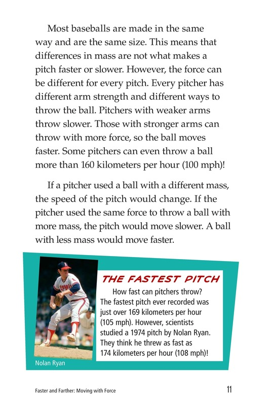 Book Preview For Faster and Farther: Moving with Force Page 11