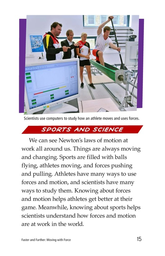 Book Preview For Faster and Farther: Moving with Force Page 15