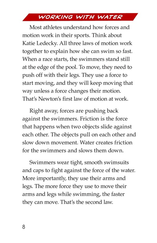 Book Preview For Faster and Farther: Moving with Force Page 8