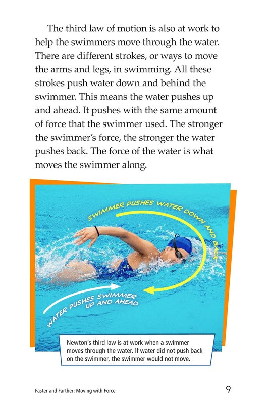 Book Preview For Faster and Farther: Moving with Force Page 9