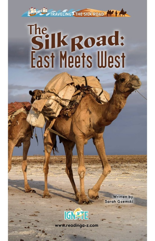 Book Preview For The Silk Road: East Meets West Page 0