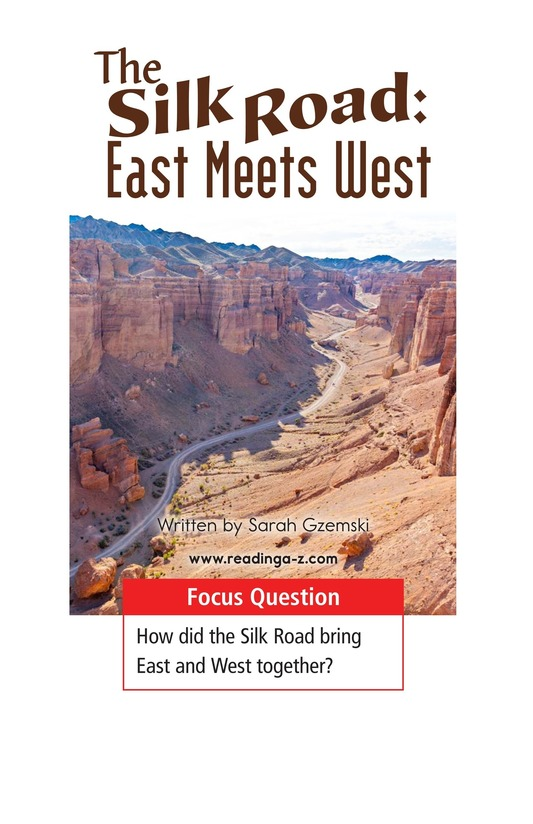 Book Preview For The Silk Road: East Meets West Page 1