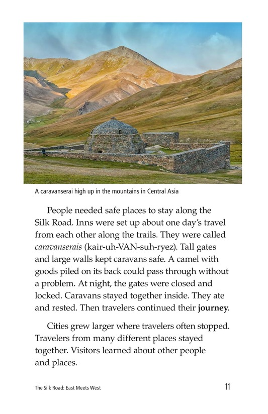 Book Preview For The Silk Road: East Meets West Page 11