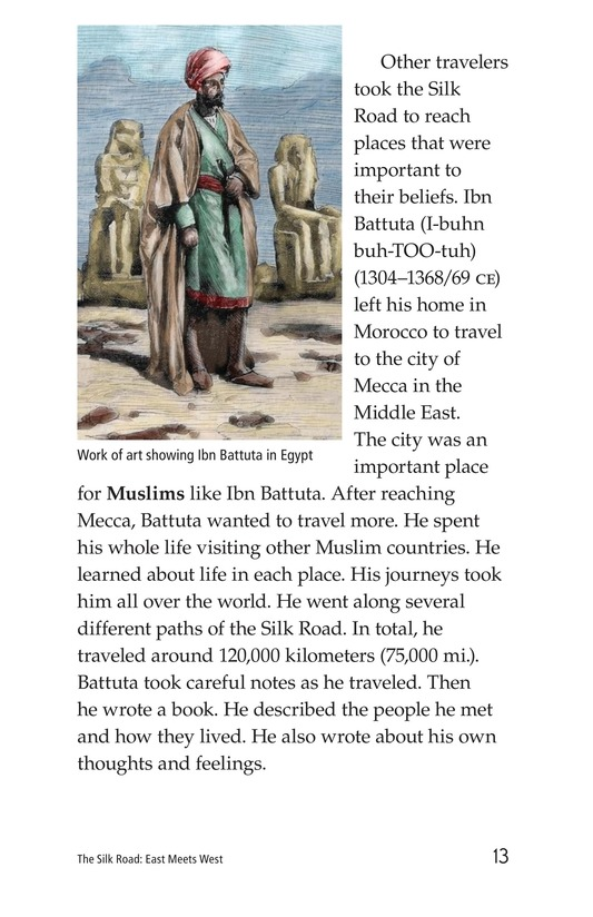 Book Preview For The Silk Road: East Meets West Page 13