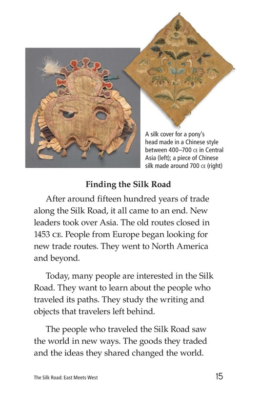 Book Preview For The Silk Road: East Meets West Page 15