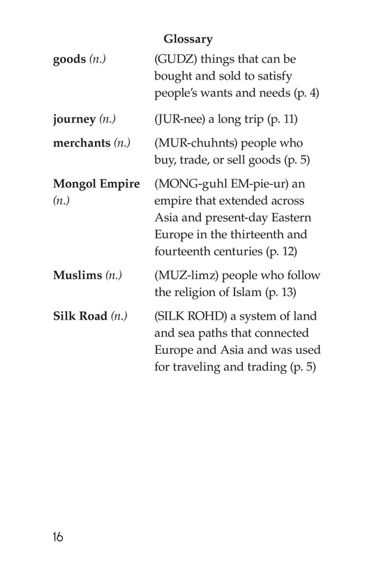 Book Preview For The Silk Road: East Meets West Page 16