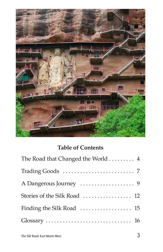 Book Preview For The Silk Road: East Meets West Page 3
