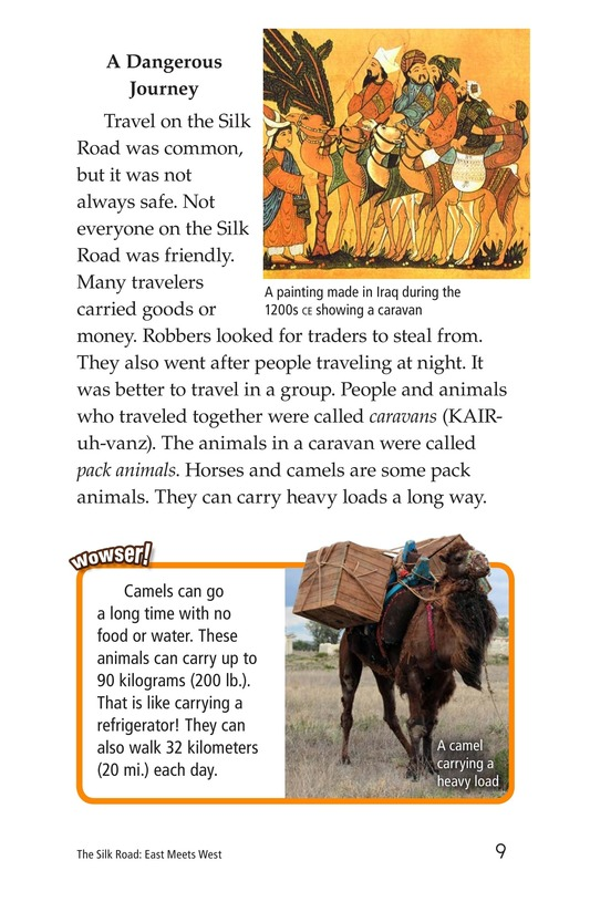 Book Preview For The Silk Road: East Meets West Page 9