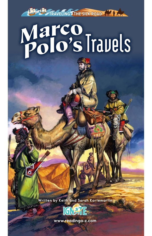Book Preview For Marco Polo's Travels Page 0
