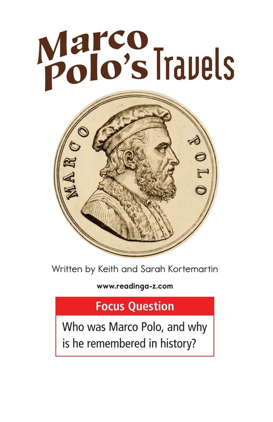 Book Preview For Marco Polo's Travels Page 1