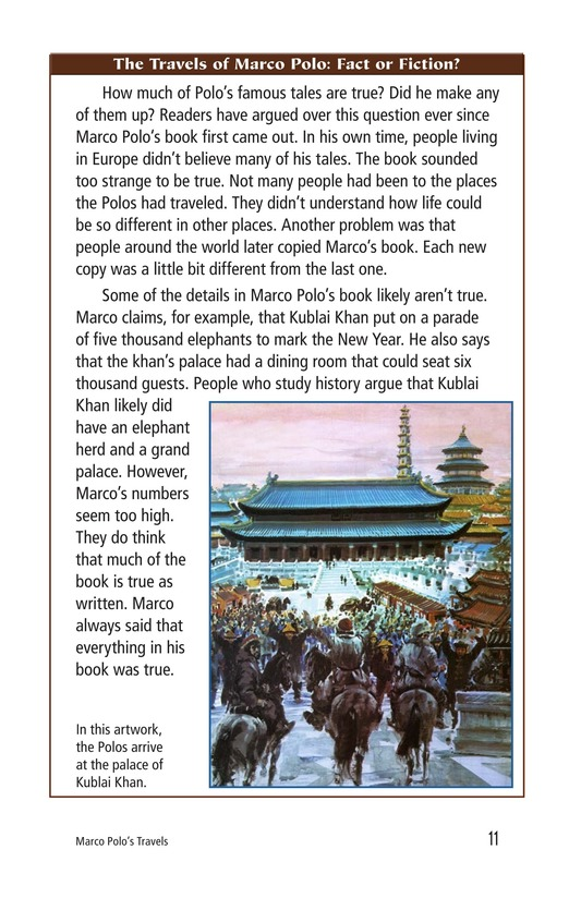 Book Preview For Marco Polo's Travels Page 11