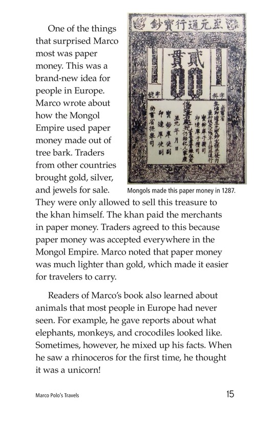 Book Preview For Marco Polo's Travels Page 15