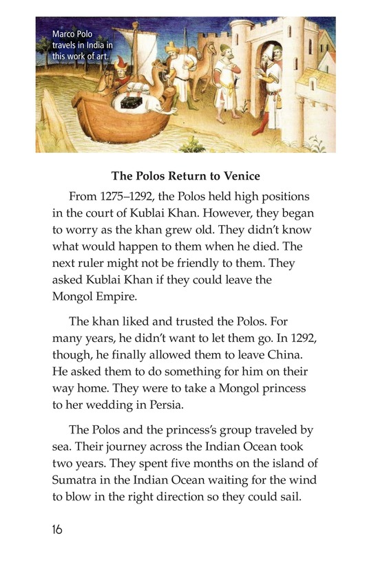 Book Preview For Marco Polo's Travels Page 16