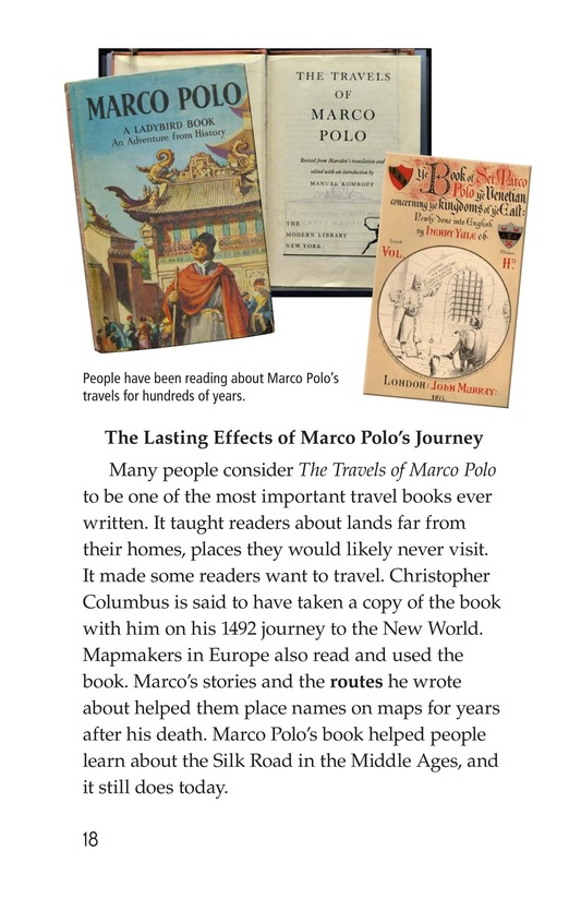 Book Preview For Marco Polo's Travels Page 18