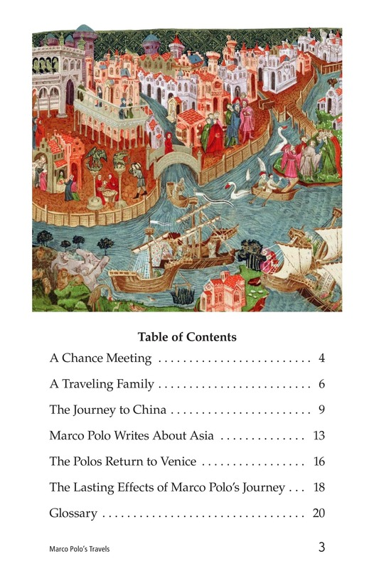 Book Preview For Marco Polo's Travels Page 3