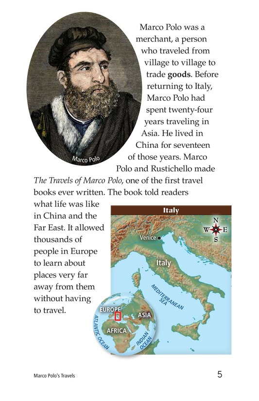 Book Preview For Marco Polo's Travels Page 5