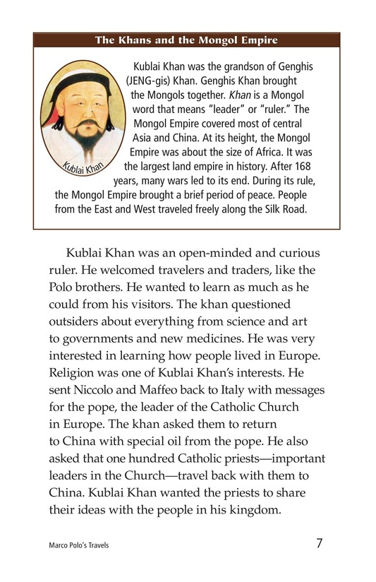 Book Preview For Marco Polo's Travels Page 7
