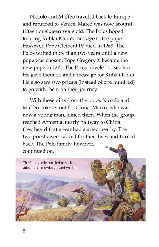 Book Preview For Marco Polo's Travels Page 8