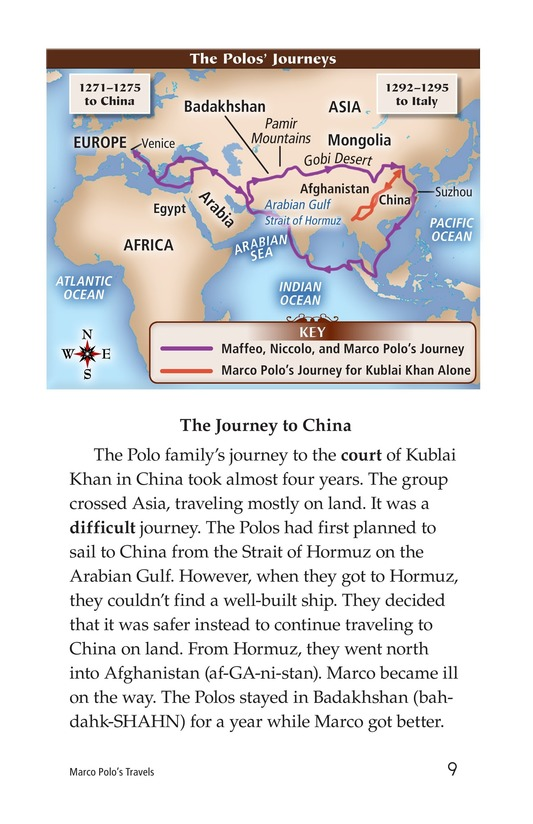Book Preview For Marco Polo's Travels Page 9